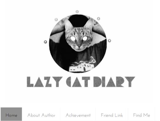 THE LAZY CAT DIARY