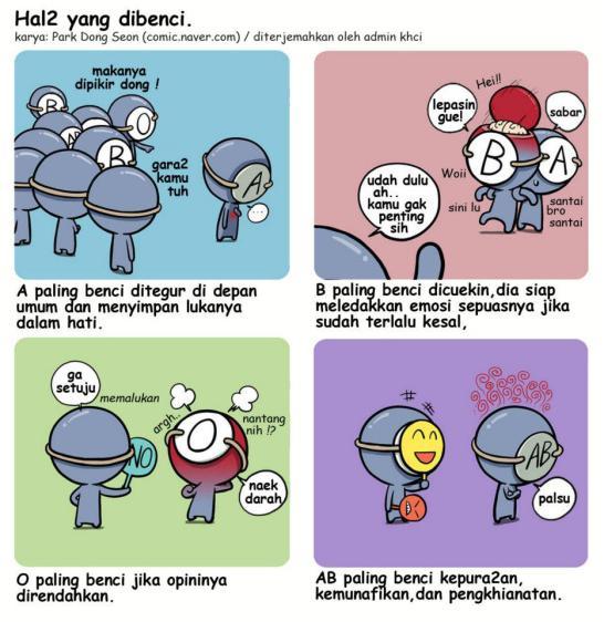 Komik Golongan Darah O (6)