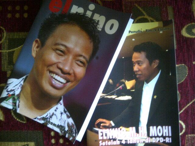 Buku Laporan Pertanggungjawaban selama di DPD-RI Periode 2009-2014