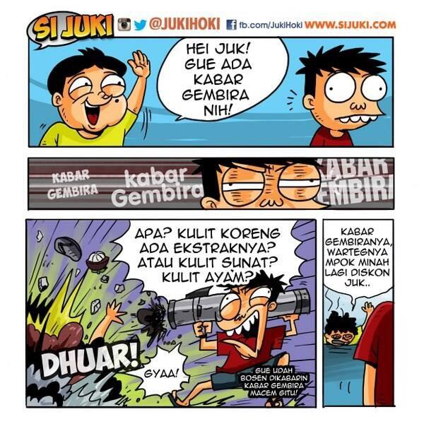 Gara-gara iklan ini, sekarang orang kalo denger Kabar Gembira bukan seneng malah jadi sensi. :(