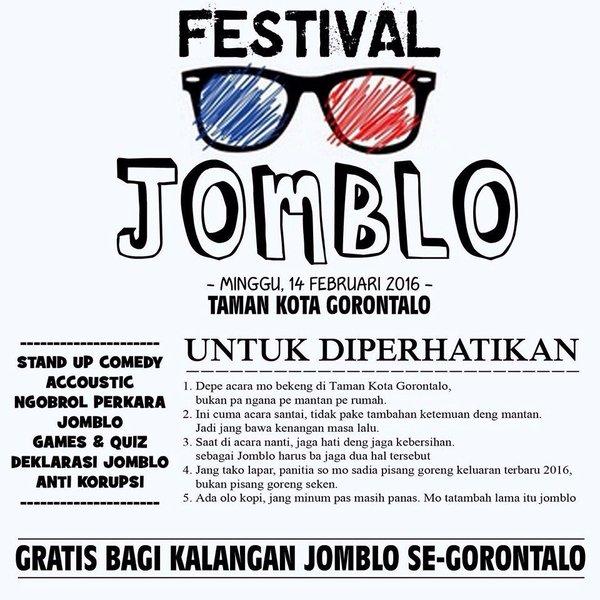 Festival Jomblo Gorontalo