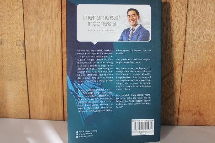 Menemukan Indonesia Pandji Pragiwaksono