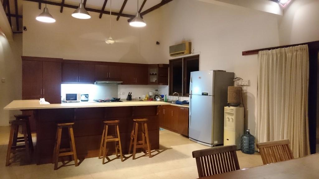 Fasilitas Dapur di Tanjung Lesung Villa