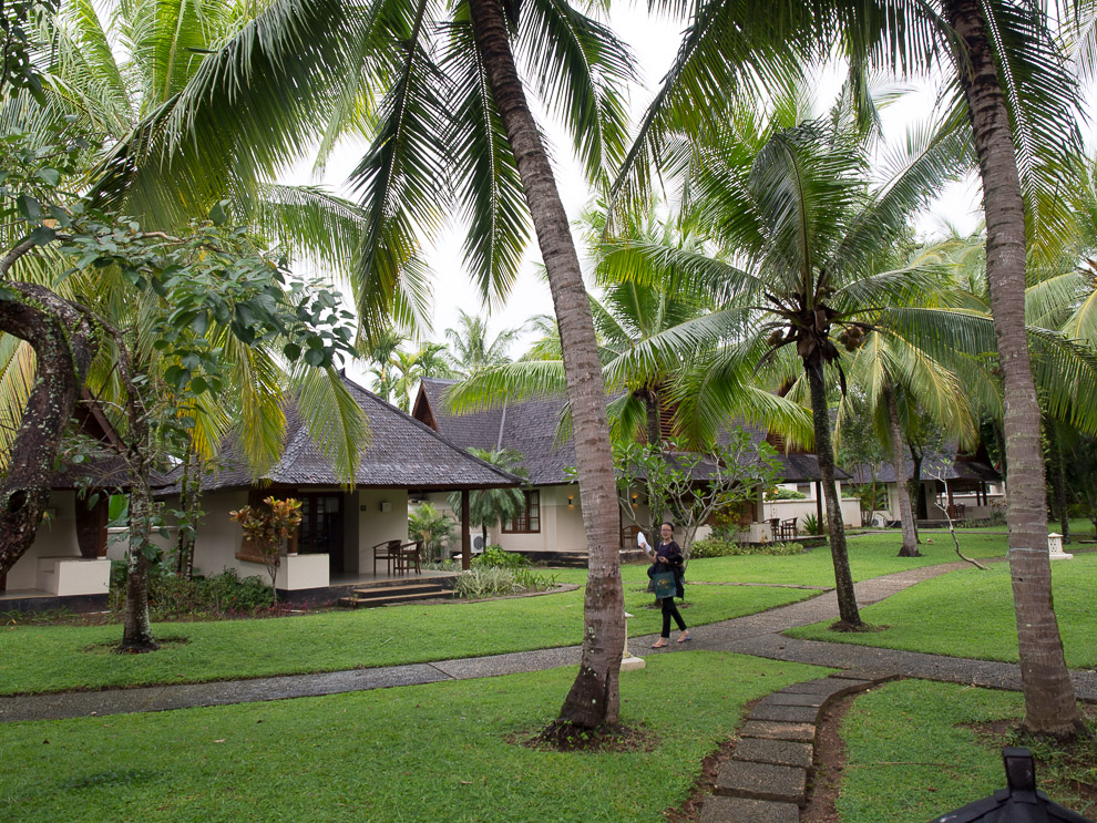Kamar-kamar di Tanjung Lesung Beach hotel (Sumber foto: wiranurmansyah.com)